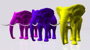 elephant color songs color elephant cartoons for children colors
