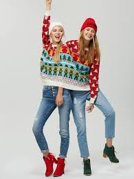 zaful two person reindeer sweater shop