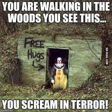 Scary Clown Memes - scary clown memes imgflip