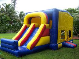 bounce house rental party rental miami combo units combo slide