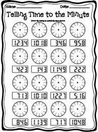 telling time worksheets for 2nd grade worksheets