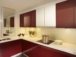 Glass Kitchen Cabinets Modern Glass Cabinet Home Design Ideas