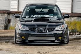 subaru wrx hatchback stance staying humble u2013 frankie u0027s 2007 subaru wrx royal stance