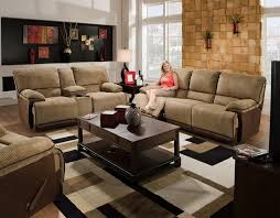 Reclining Sofa With Console by Clayton Power Reclining Loveseat With Console And Cupholders In