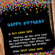 cards best birthday wishes happy birthday wish cards with name