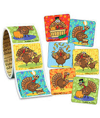 thanksgiving value stickers roll stickers from