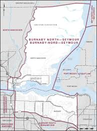 Map Vancouver Canada by Burnaby North U2013seymour Maps Corner Elections Canada Online
