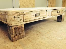 Wohnzimmertisch Cool Tisch Aus Euro Palette Einrichtung Europalette Pinterest