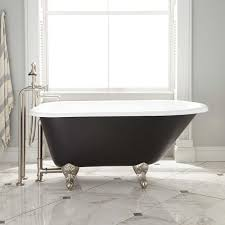Bathtubs 54 Inches Long Bathroom Using Luxury Clawfoot Bathtubs For Pretty Bathroom