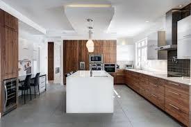 plancher cuisine idée relooking cuisine céramiques de plancher de couleur grise