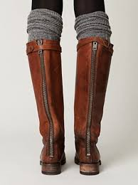 s boots knee high brown shoes leather boots brown boots knee high studs