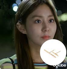 earrings for school high society 2015 korean tv series after school uie stud earring