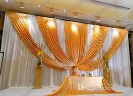 wedding backdrop chagne 2018 3m 6m fabric silk drape curtain wedding backdrop