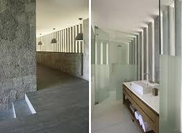 Rustic Room Divider Decoration Deluxe La Pena House By R Zero Architect With Concrete