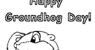 digital dunes groundhog u0027s coloring pages