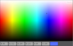 color selection create gradient for color selection with html5 canvas all possible