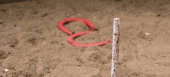 Horseshoe Fire Pit by How To Build A Horse Shoe Pit Doityourself Com