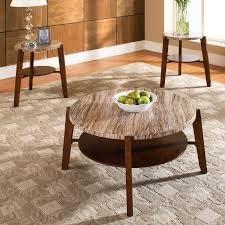 3 piece round coffee table set coffee tables
