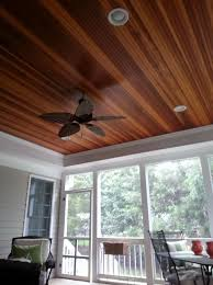 wood for porch ceiling