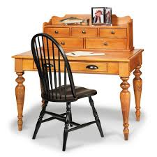 Pine Desk With Hutch Home Office Bookcases American Country