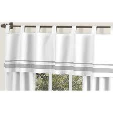 Kitchen Kitchen Curtain Sets Standard by Striped Valances U0026 Kitchen Curtains You U0027ll Love Wayfair