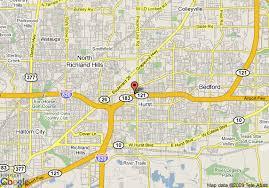 hurst map map of hyatt place fort worth hurst hurst