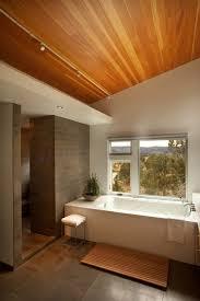 Lighting For Sloped Ceilings by Sloped Ceiling Bathroom Track Lighting Modern Bathroom Track