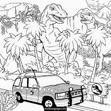 jurassic rex indominus rex coloring e1441119551948