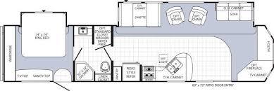 Puma Travel Trailers Floor Plans 2014 Palomino Puma 38 Plf Park Model Rv For Sale Rv Details