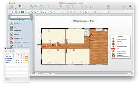 fire exit floor plan template evacuation plan templates template business