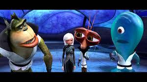 monsters vs aliens cartoon animation sci fi monsters aliens