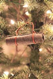 vintage ornament cing bed roll diy ornaments