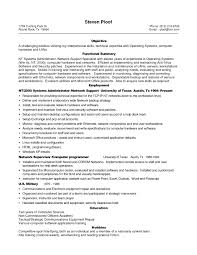 Support Technician Resume Computer Hardware And Networking Resume Samples Free Resume