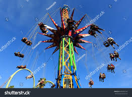 Six Flags Investors Vallejo California March 24th 2016 Roller Stock Photo 409387144