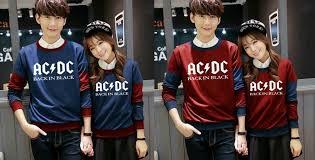 Baju Ac Dc sweater new acdc