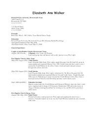 Ministry Resume Template Resume Sample For Nurses Without Experience Bongdaao Com