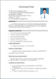 curriculum vitae format for freshers pdf best mba resume templates accounting resume sles for freshers