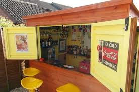 Backyard Bar Ideas This Is How To Make Your Shed Into Your Own Private Bar