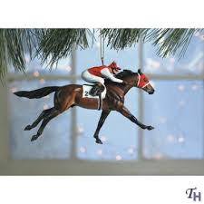 seabiscuit ornament by breyer