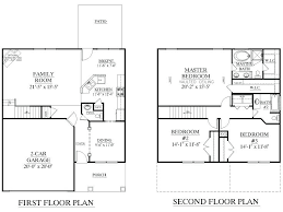 floor plans 1000 sq ft house plan 1865 a the whitmire a floor plan two story house plans