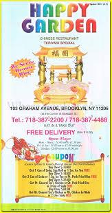 Family Garden Chinese Food Happy Garden Chinese Restaurant In Williamsburg Brooklyn 11206