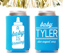 baby shower koozies baby shower favors c r a f t