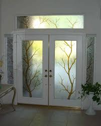 seal glass on an exterior front door glass front doors