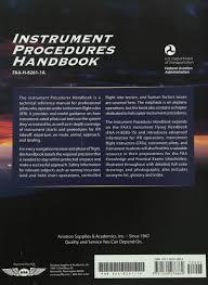 instrument procedures handbook faa h 8261 1a faa handbooks