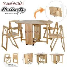 Dining Room Folding Chairs Foldable Dining Table And 4 Folding C End 6 3 2018 8 15 Pm