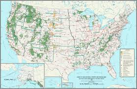 Utah National Park Map by Us National Parks Map List Of National Parks In The Us The