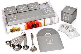 cuisines en kit molecular cuisine starter kit thinkgeek
