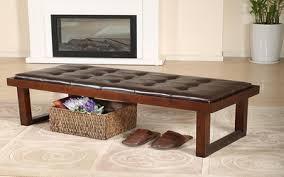 modern leather bench nanobuffet com