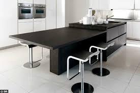 plan de travail escamotable cuisine beau meuble de cuisine avec table escamotable collection et meuble