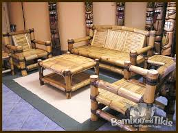 Bamboo Chairs For Sale Bamboo Living Room Furniture Set With Cushion 12 Image